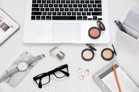 Hero- Makeup for Work Laptop Desk Drawer
