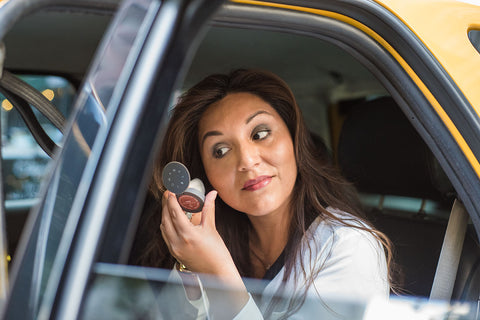 Hero - Apply Travel Size Makeup Powder Blush In A Cab