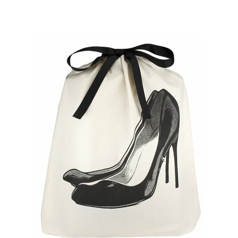 Item - Bag-All Black Pump Shoe Bag