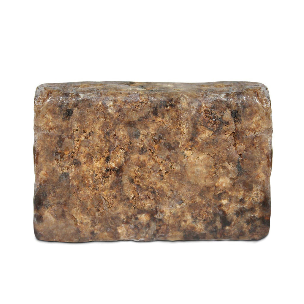 Natural Raw Organic African Black Soap Ghana Unrefined Grade A Anago Soap