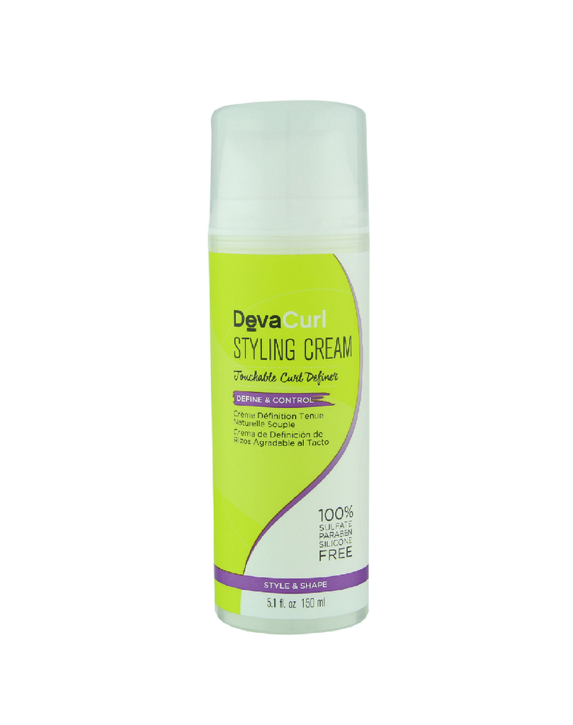DevaCurl Styling Cream 5.1 oz Help Strengthen Hair Sealed Fresh