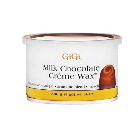 GiGi Milk Chocolate Creme Wax  A Hair Inhibitor  14 oz