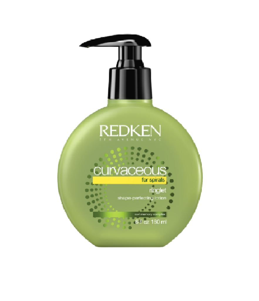 Redken Curvaceous Ringlet Shape Anti-Frizz Perfecting Lotion 6 oz