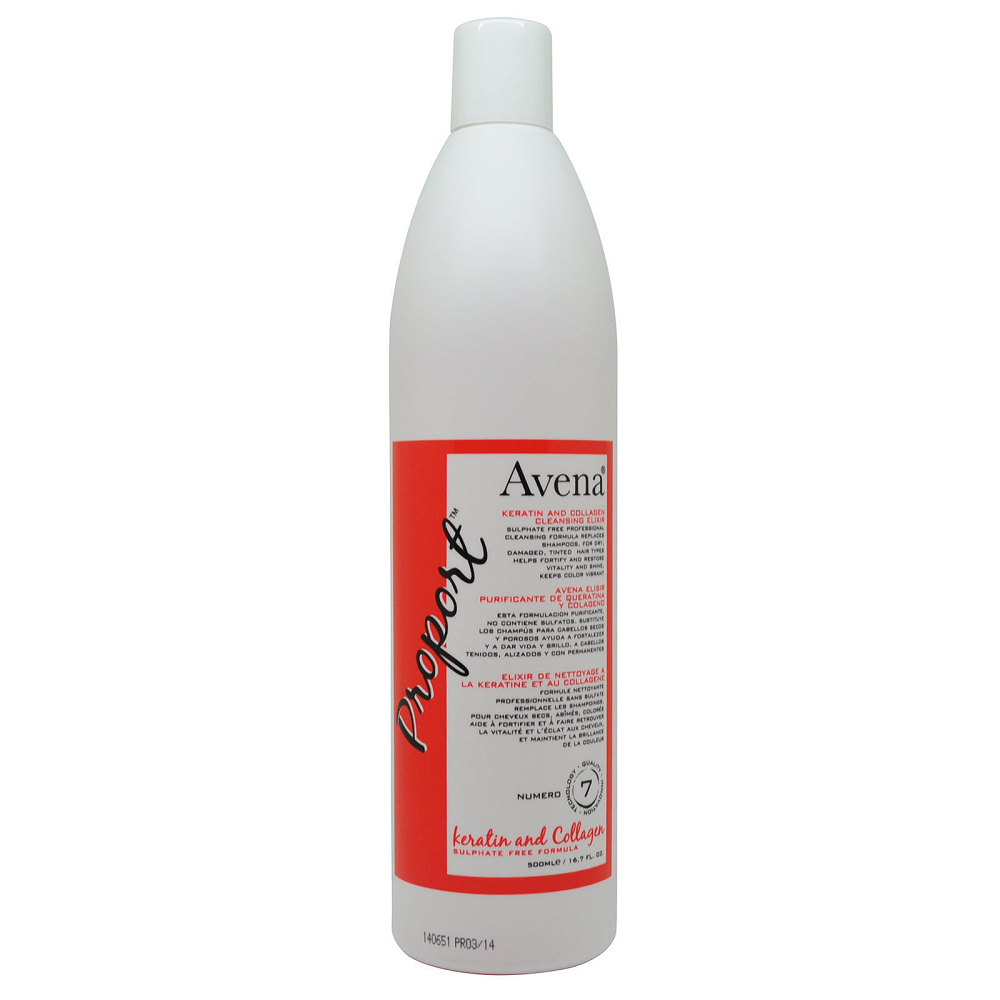 Avena Keratin And Collagen Cleansing Elixir 500 ml 16.7 fl oz