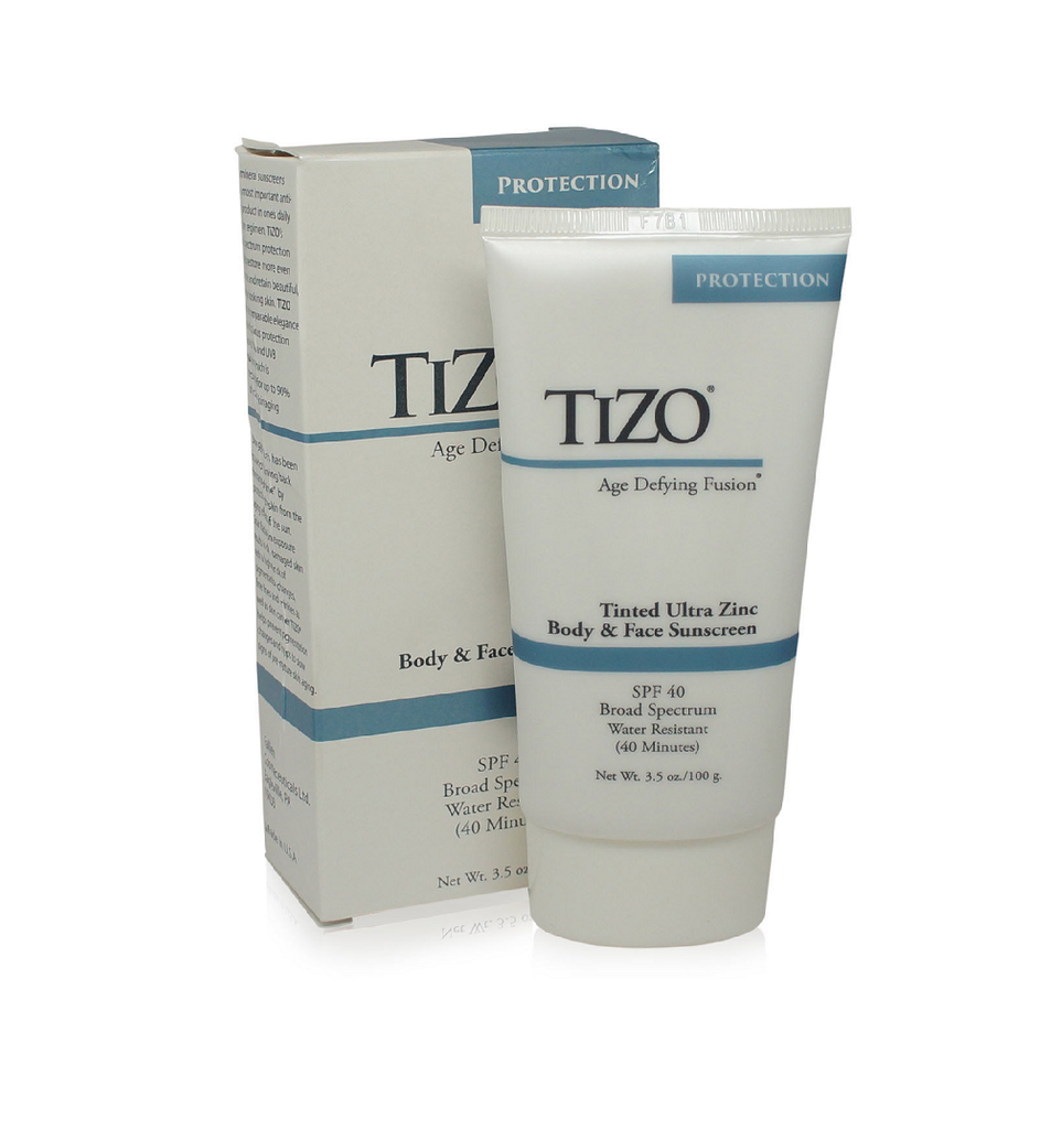 Tizo  Age Defying Fusion tinted Ultra Zinc Body & Face Sunscreen SPF 40  3.5oz