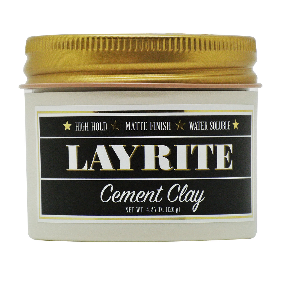 Layrite Extreme High Hold Cement Clay 4.25 oz 120 g