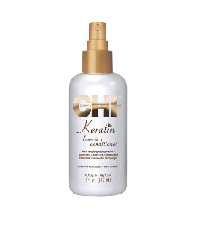 Chi Keratin Leave In Conditioner Leave In Unique Reconstructing Treatment 6 oz