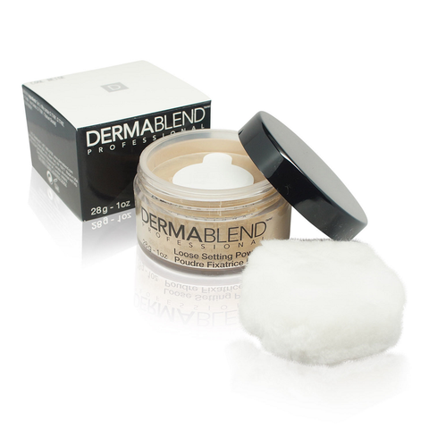 Dermablend Best Skin Moisturizing  Loose Setting Powder  COOL BEIGE 1oz