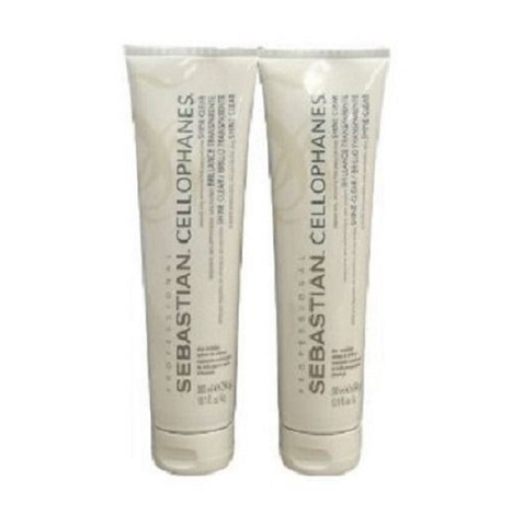 SEBASTIAN Professional Cellophanes Shine Clear 10.1oz  2pcs