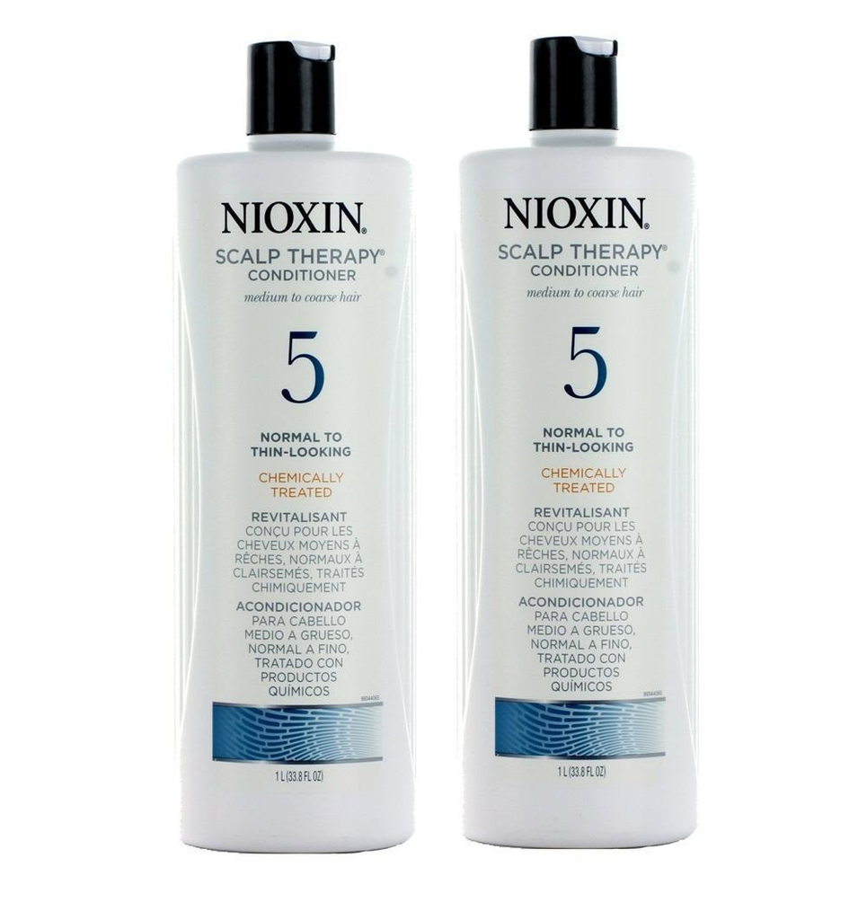 Nioxin System 5 Scalp Therapy   Hair Conditioner 2 Packs 33.8 Oz