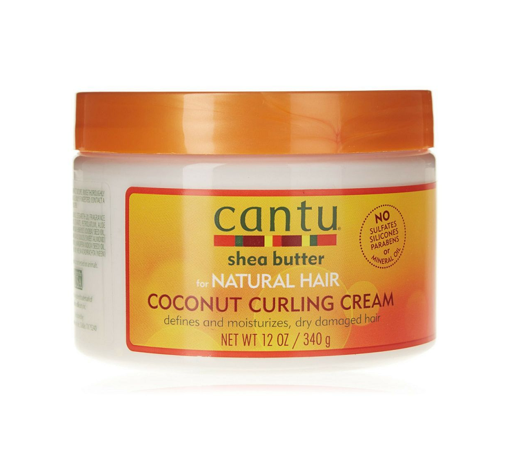 Cantu  Natural Hair Coconut Curling Cream Heal Dry Damaged Hair 12 oz