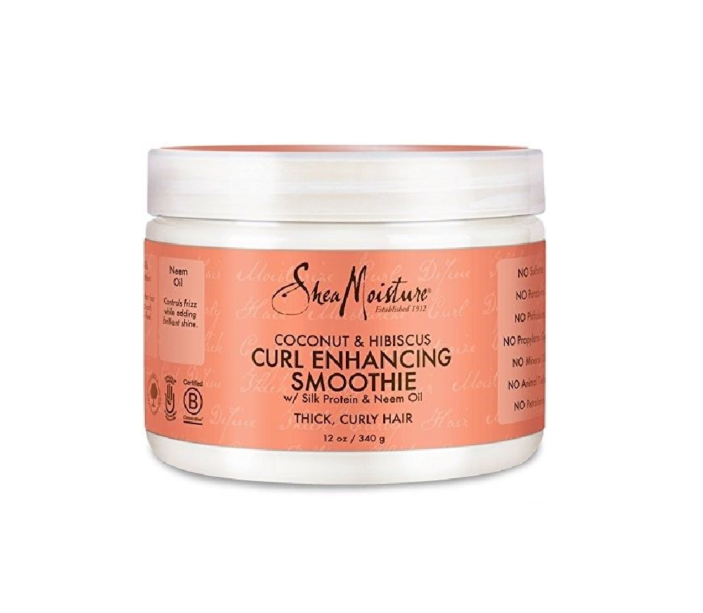 SheaMoisture Coconut and Hibiscus Curl Enhancing Smoothie12 oz