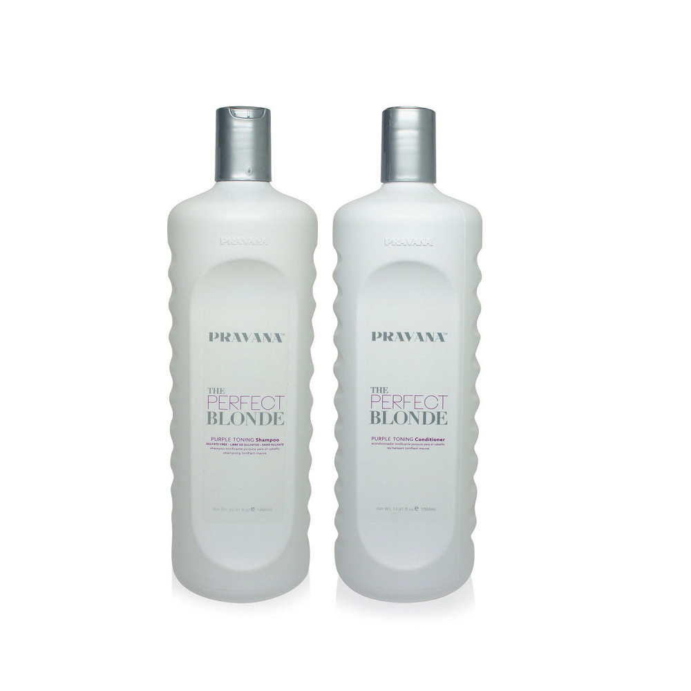 Pravana  Perfect For Blonde Shampoo & Conditioner  1 liter each