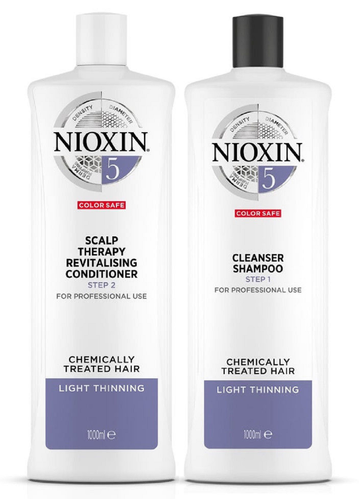 Nioxin System 5 Duo Set 33.8oz 1L