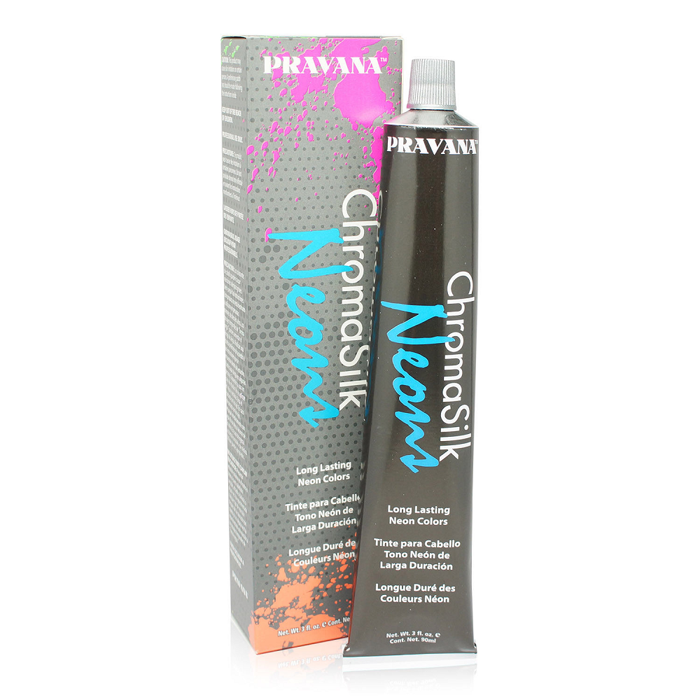 Pravana  ChromaSilk  Vivids  Neon Blue Hair Color Correcting Dye 3oz