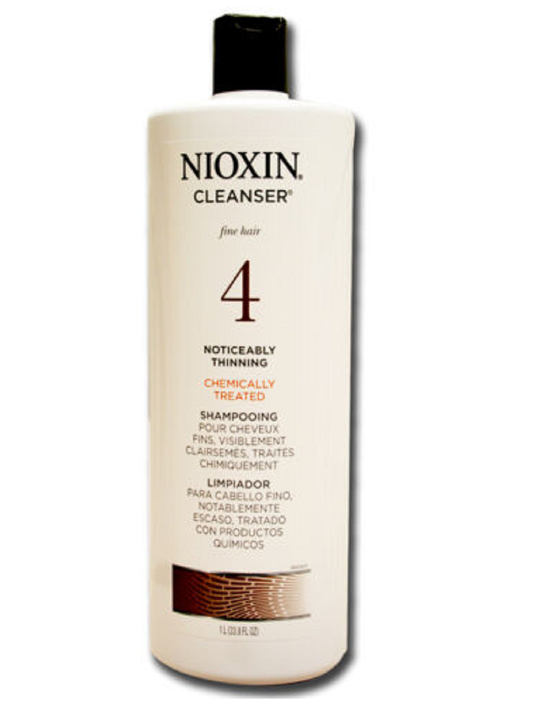 Nioxin Cleanser System 4  33.8 Ounce