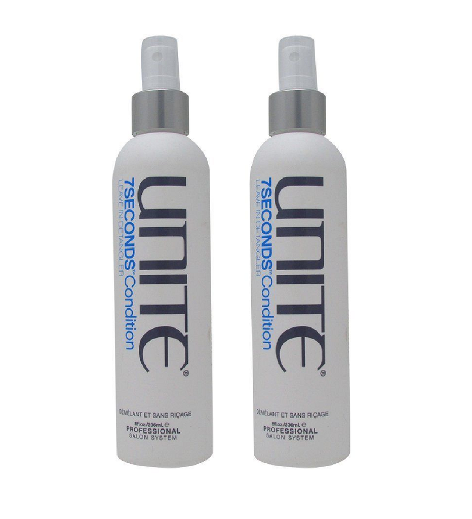 Unite 7 Seconds Condition Leave in Detangler 8 oz Pack of 2