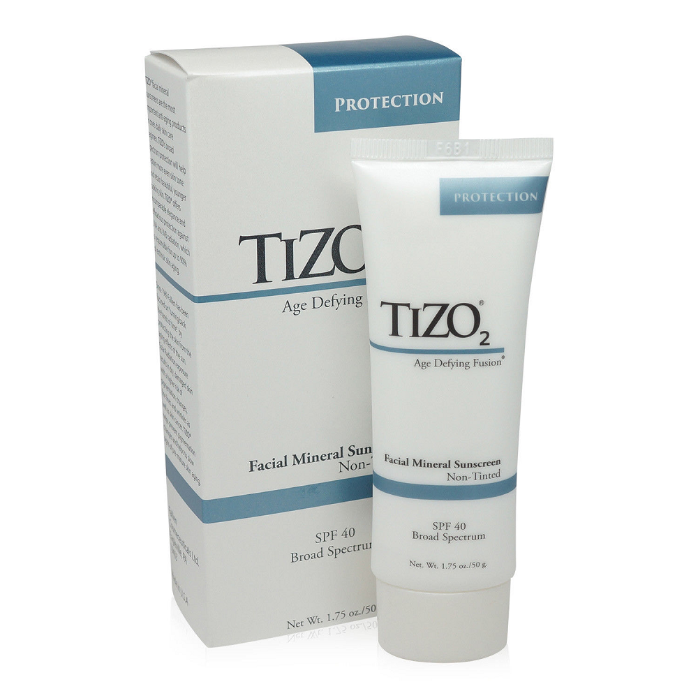 TIZO 2  Facial Mineral Sunscreen Non Tinted SPF 40   1.75oz
