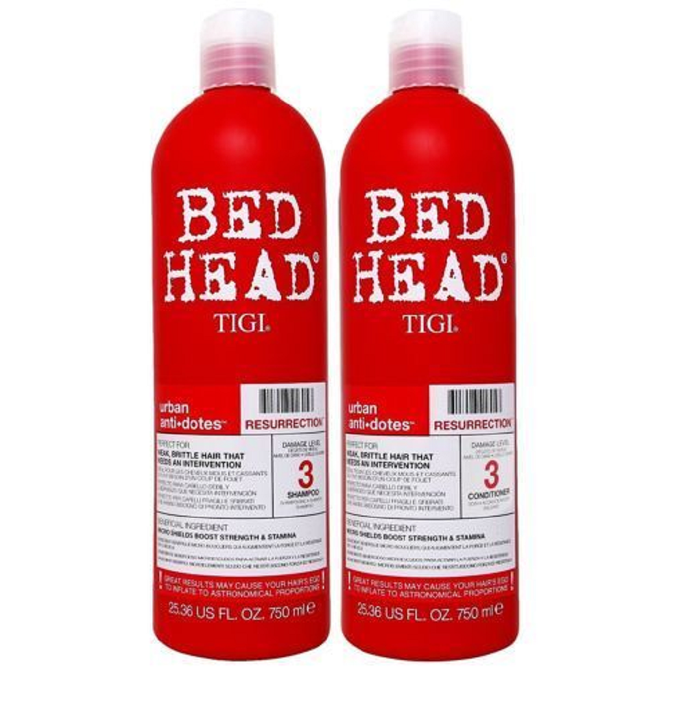 TIGI Bed Head Resurrection Shampoo Conditioner  Duo Set 25.36oz