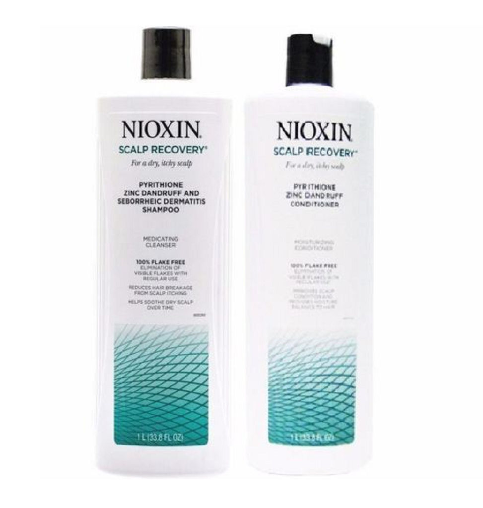 NIOXIN Scalp Recovery Moisturizing Shampoo  & conditioner 33.8oz
