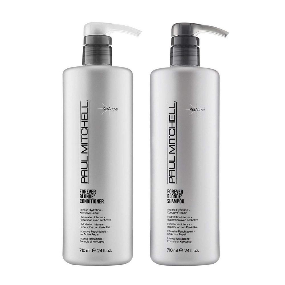 Paul Mitchell Forever Blonde Shampoo & Conditioner Combo Pack  24 Oz