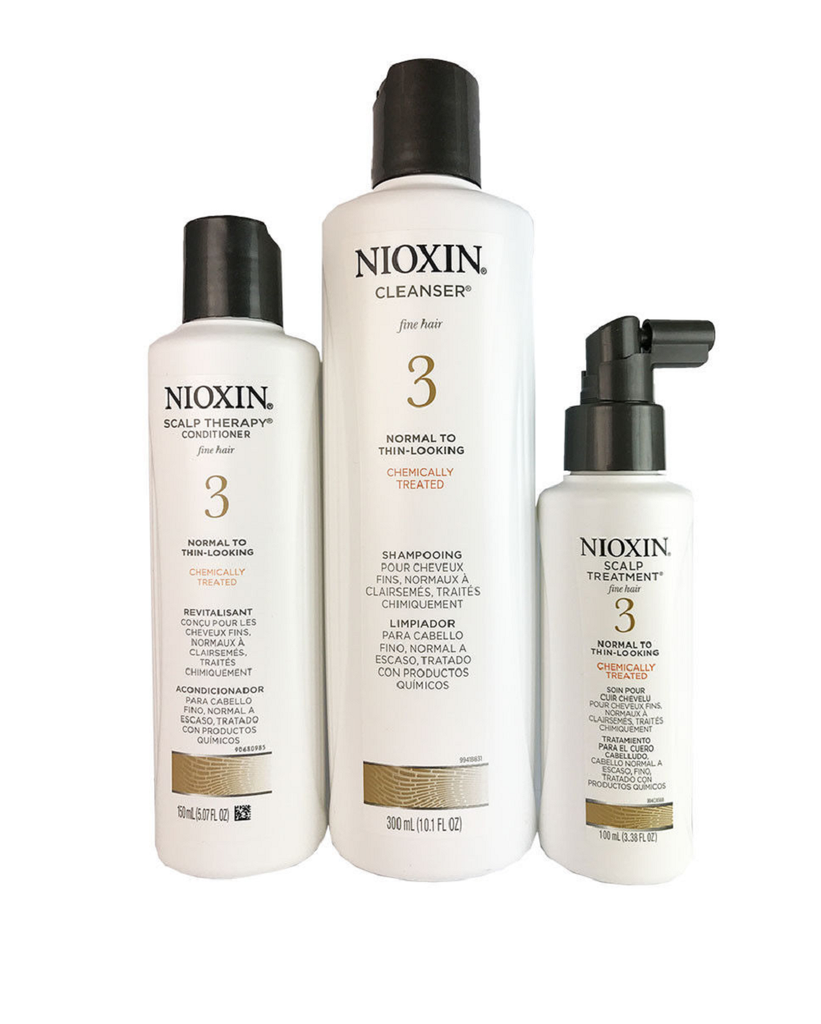 Nioxin System 3  3 Piece Kit for the Hair