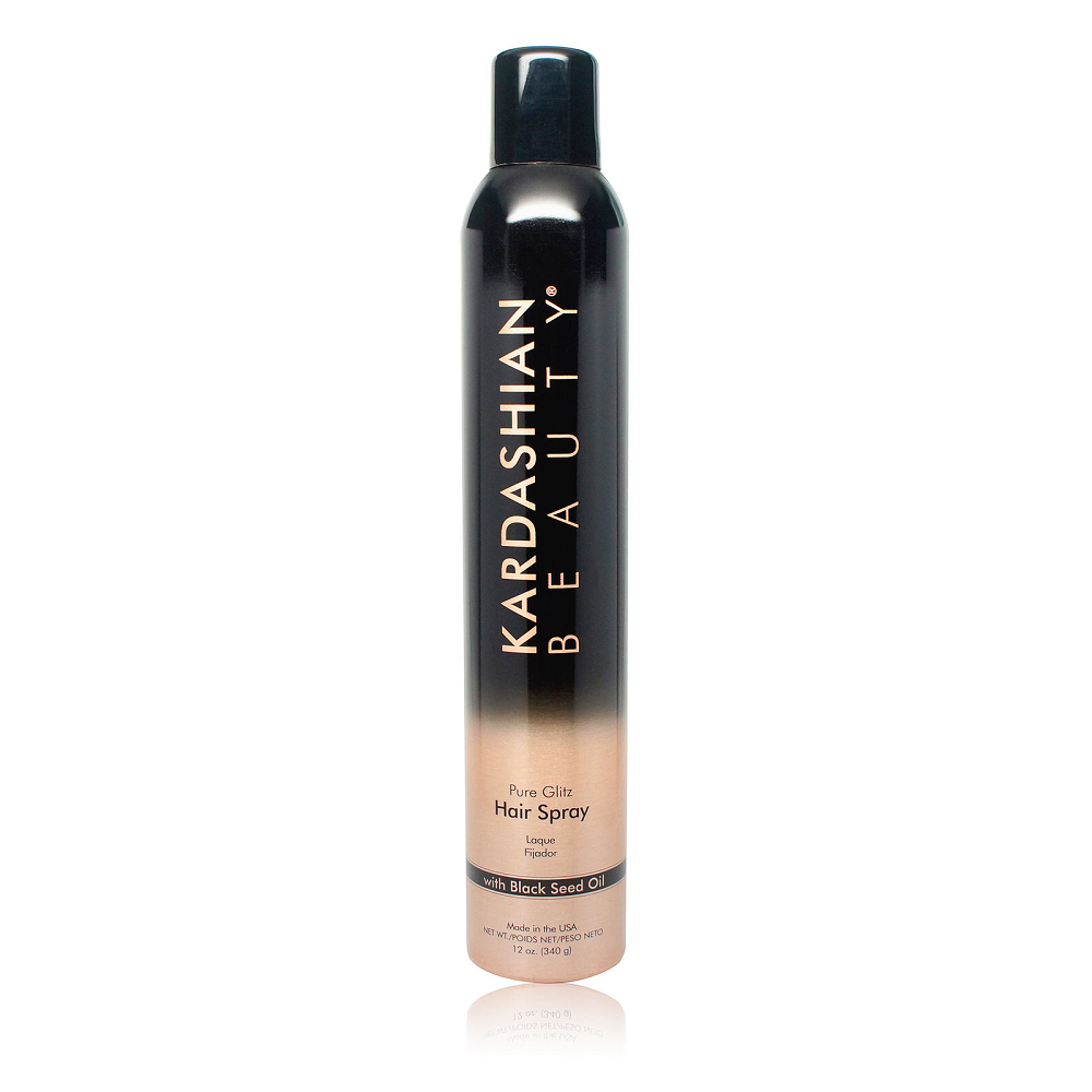 Kardashian Beauty Pure Glitz Hair Spray 12 Oz