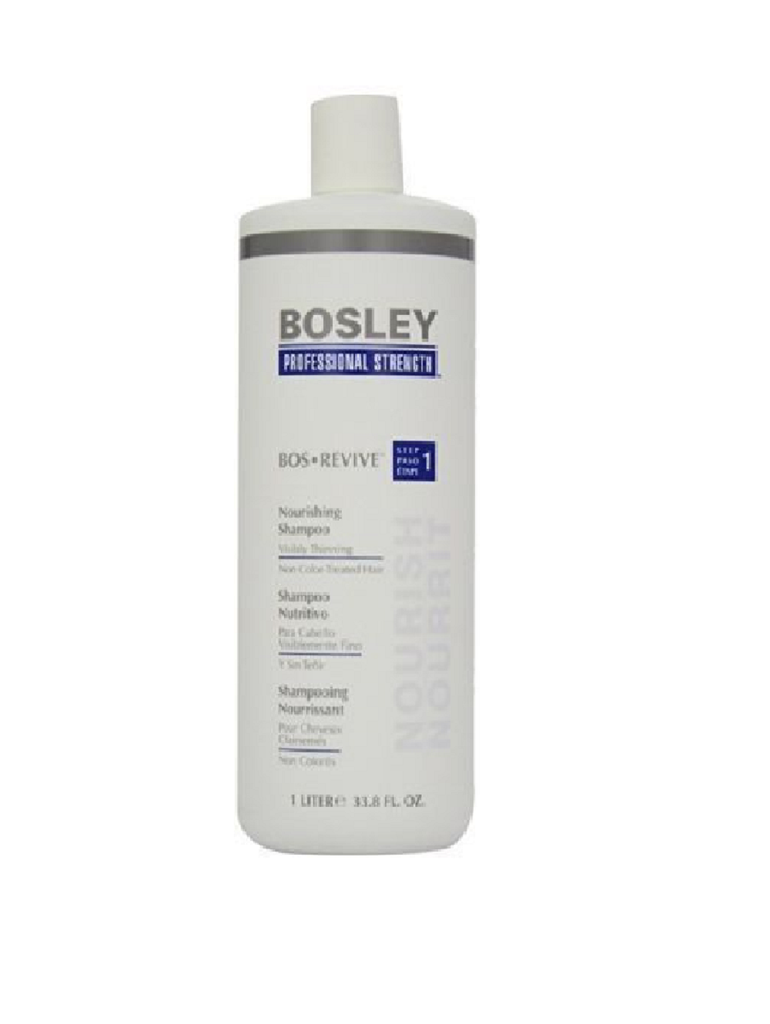 Bosley Revive Nourishing Shampoo Visibly Thinning Non Color-Treated Hair 33.8oz