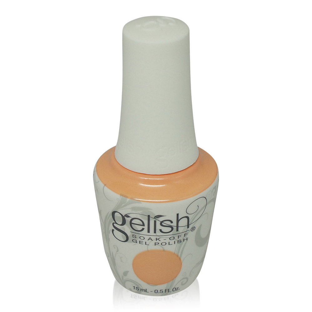 Gelish  Soak Off Gel Polish Light Peach Frost Forever Beauty