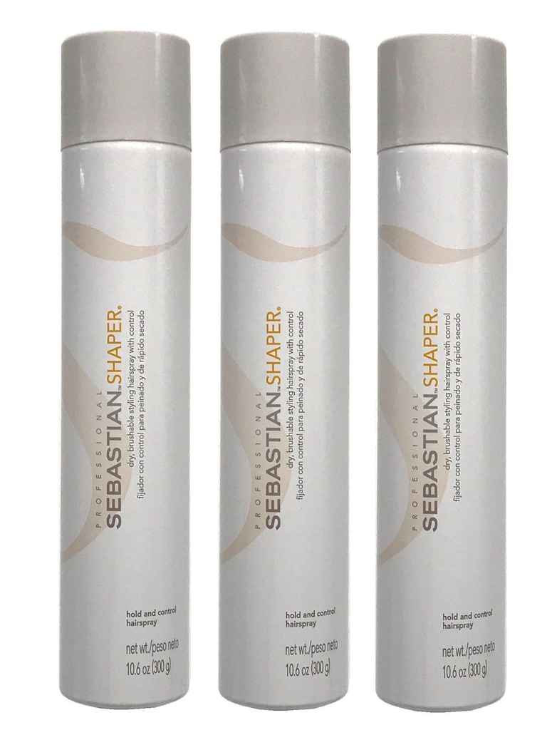 Sebastian Shaper Brushable Hairspray 10.6 oz Pack of 3