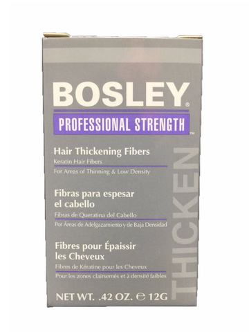 Bosley Professional Strength Hair Thickening Fibers 12g 0.42 oz Blond