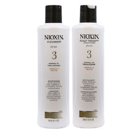 Nioxin System 3 Cleanser and Scalp Therapy Duo Set 10.1 oz