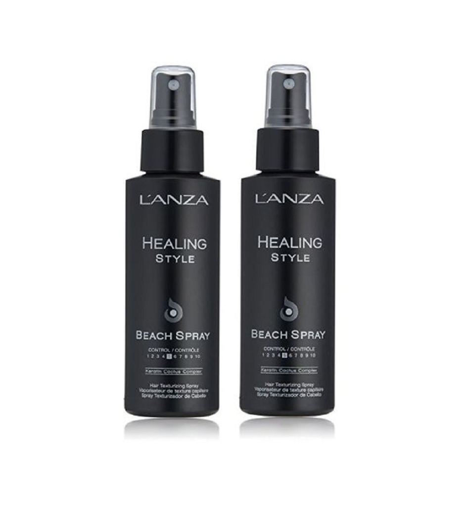 Lanza Healing Style Beach Spray 3.4 oz  2 Pack