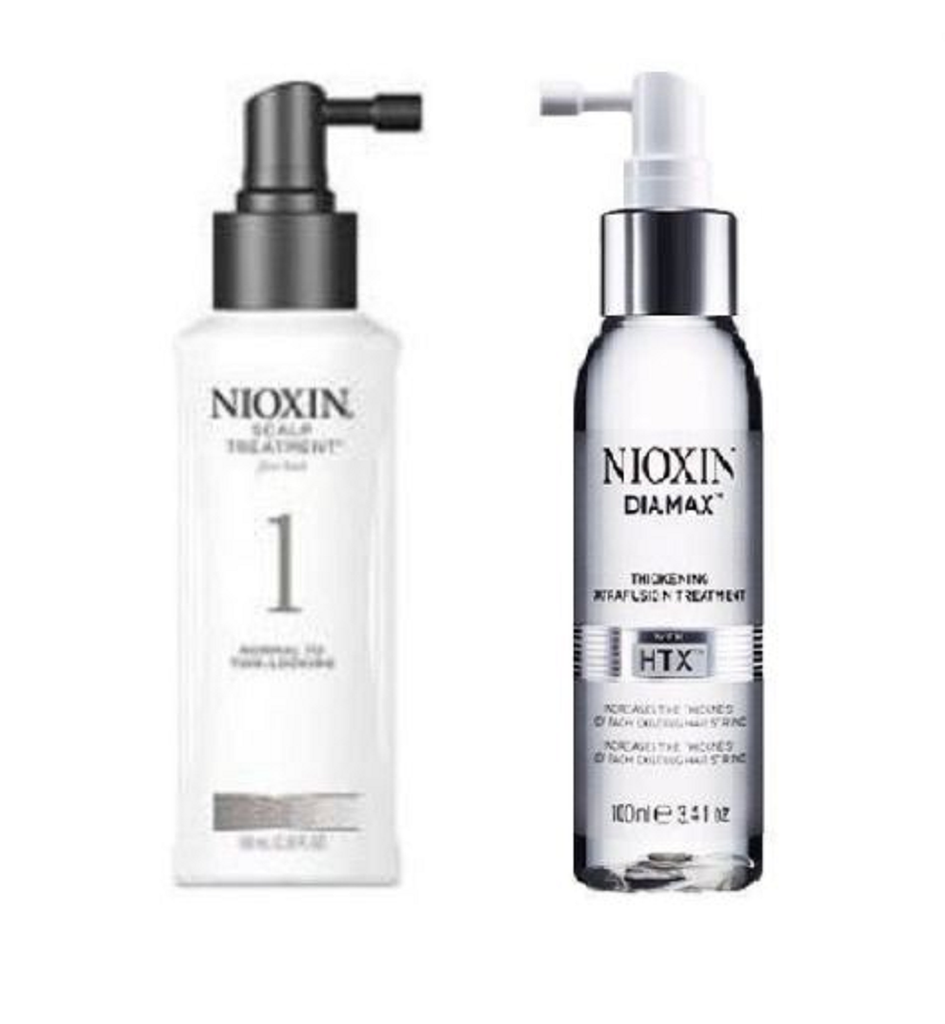 NIOXIN System 1 Scalp Treatment 3.4oz & Diamax 3.4oz