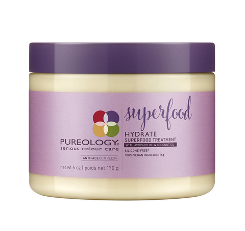 Pureology Hydrate Superfood Treatment 6 oz