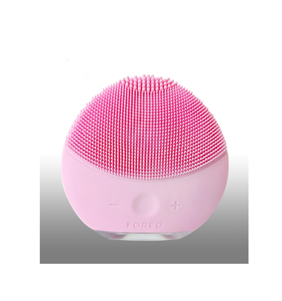 FOREO LUNA Mini  Facial Cleansing Brush  2 Pearl Pink  for All Skin Types
