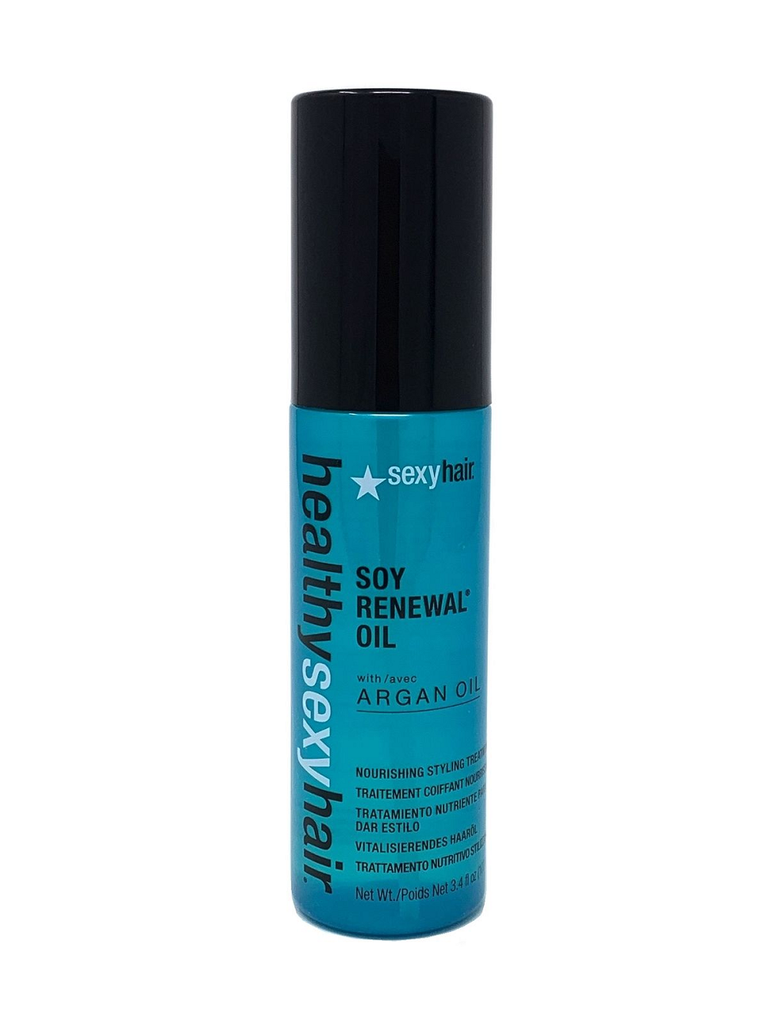 Healthy Sexy Hair Soy Renewal Oil with Argan Oil 3.4 oz