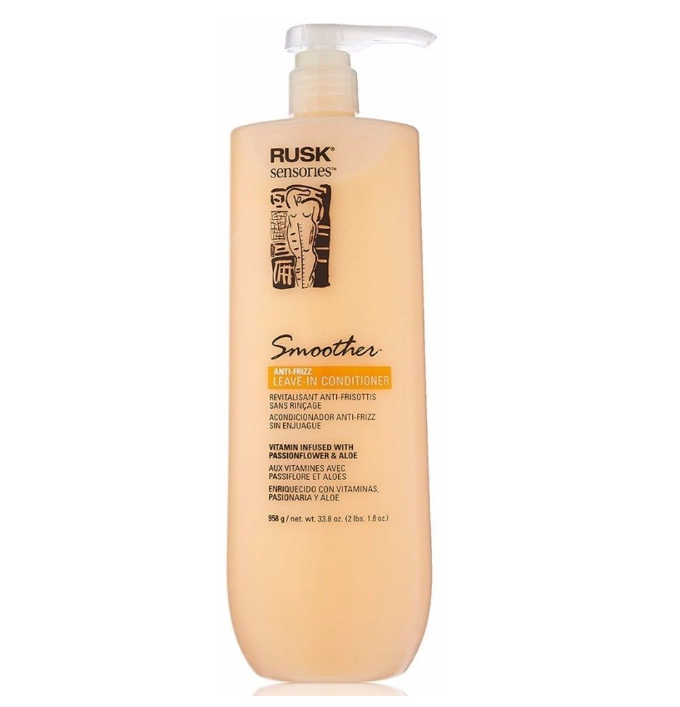 RUSK Sensories Smoother Aloe Smoothing Leave-In Conditioner 33.8oz