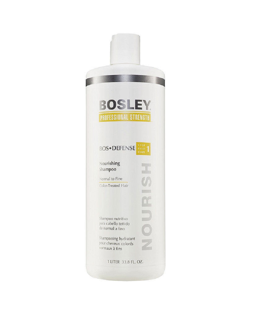 Bosley Bos-Defense Shampoo Normal To Fine Color Treated Hair 33.8 oz