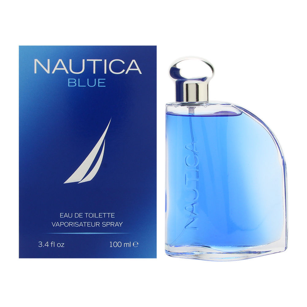 Nautica Blue Cologne For Men 3.4 Oz Eau de Toilette Spray