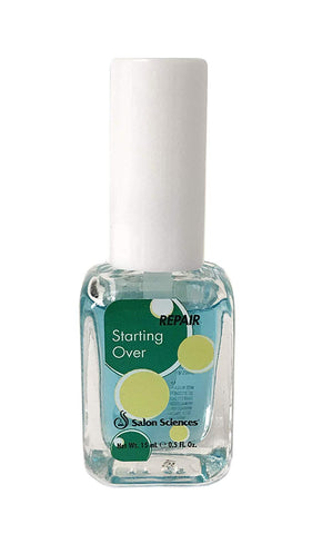 Starting Over After Artificials Nail Revitalizing Strengthener