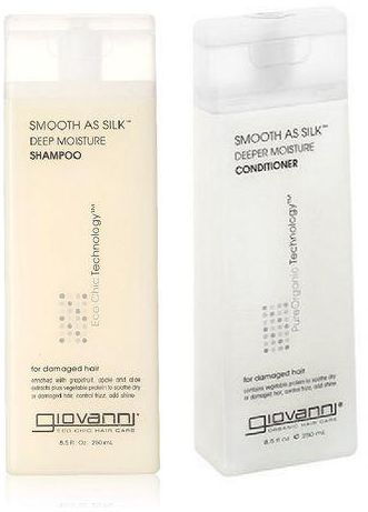 Giovanni Smooth As Silk Deep Moisture Set Shampoo & Conditioner 8.5oz