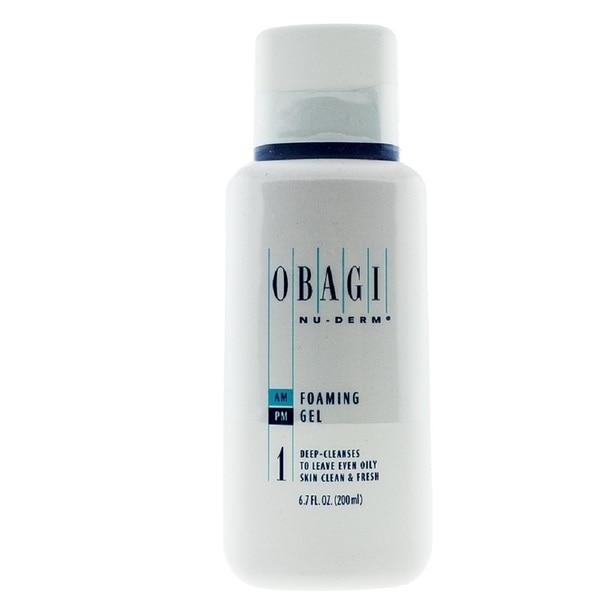 Obagi Nu-Derm Foaming Gel Deep Cleanser Skin Clean & Fresh 200ml