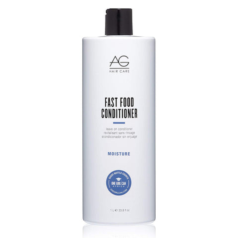 AG Fast Food Moisture Leave on Conditioner 33.8 fl. oz. / 1 Liter