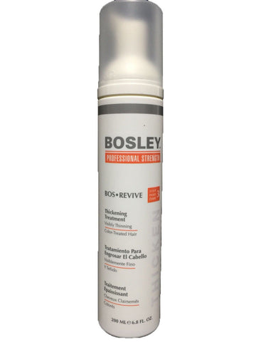 Bosley Bos Revive Thickening Treatment for Color Treated Hair 6.8 oz