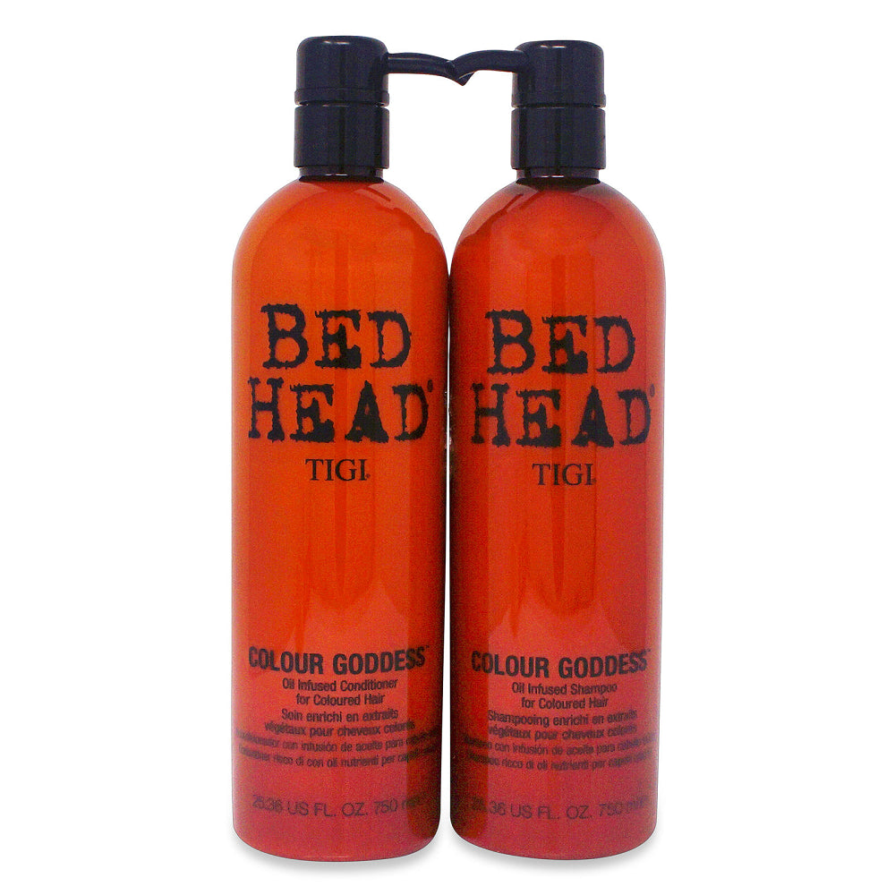 Tigi Bed Head Colour Goddess Shampoo & Conditioner 25.36 Oz Combo Pack