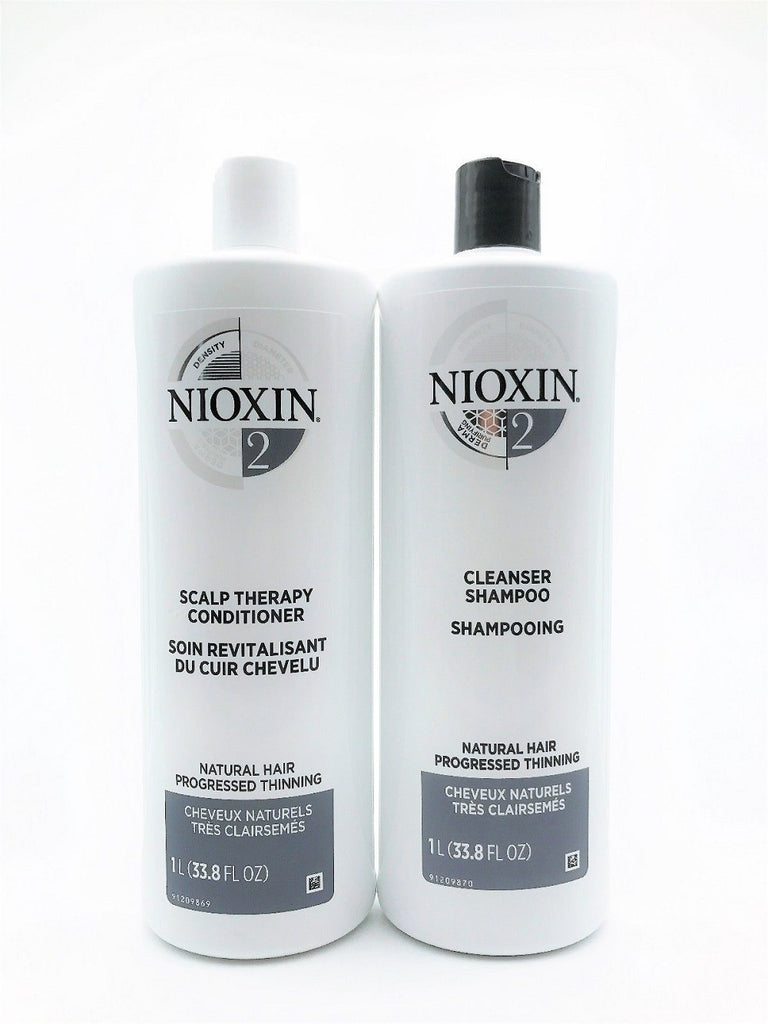 NIOXIN System 2 Liter DUO Set New Packaging