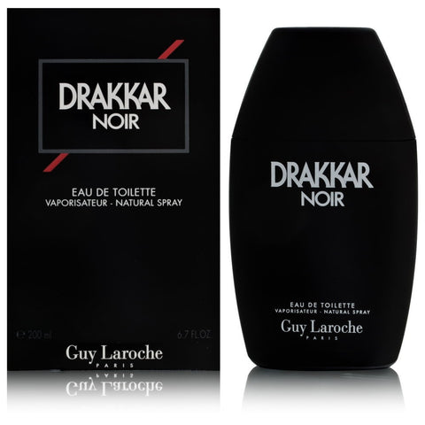 Drakkar Noir by Guy Laroche For Men 6.7 Oz EDT Spray