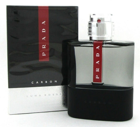 Prada Luna Rossa Carbon Cologne 5.1 oz. Eau de Toilette Spray for Men