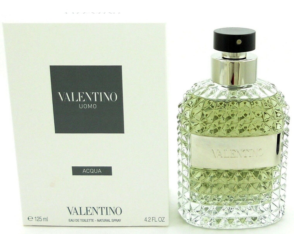 Valentino Uomo ACQUA Cologne 4.2 oz.EDT Spray for Men